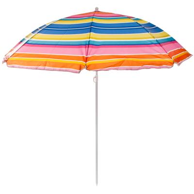 121-017 Зонт пляжный, 210D полиэстер, d=155см, h=180см, 19/22мм стойка