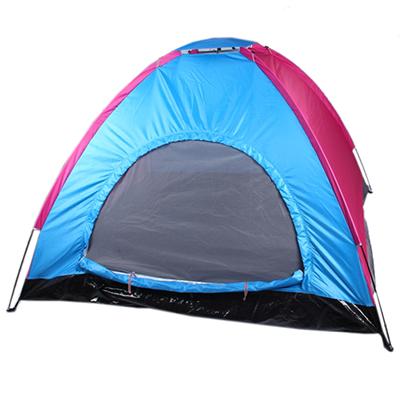 122-014 ЧИНГИСХАН Палатка 2-местная, 200х200х135см, нейлон 170T, дно оксфорд 210D