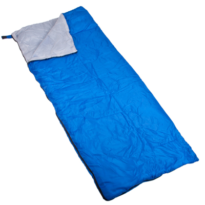 122-021 ЧИНГИСХАН Спальник-одеяло, 180х75см, полиэстер 170T, холлофайбер 150г/м2, +5/+10С, RS-3019