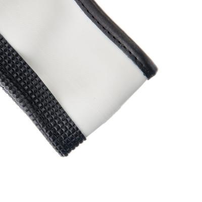 708-044 NEW GALAXY Оплетка руля, экокожа, со вставками, черный, разм. (М)