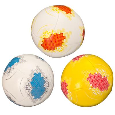 """133-020 Мяч футбольный """"New style"""", ЭВА, 3 сл, 20см, 3 цвета, ФНС-007"""