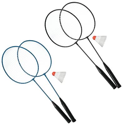 136-007 Набор для бадминтона в сетке, ракетка 2 шт, волан, 100