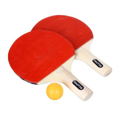 132-015 SILAPRO Набор для тенниса (ракетка 2шт, теннисный мяч 3шт, держатель д/сетки 2шт, сетка), дерево