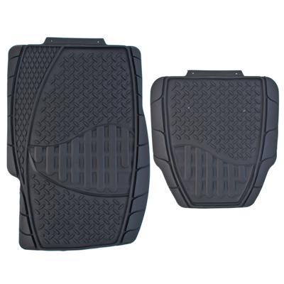 768-359 NEW GALAXY Набор ковров термопласт 4шт, универсальные, черные Dust