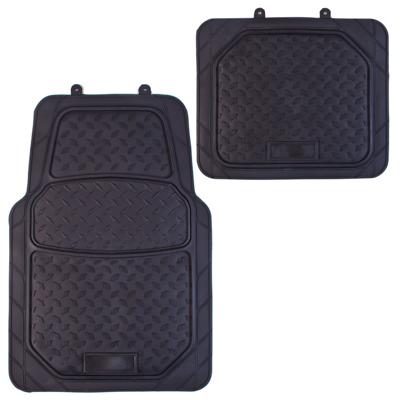 768-375 NEW GALAXY Набор ковров ПВХ 4шт, универс, черные, передние 76x50см, задние 50х50cм Slot