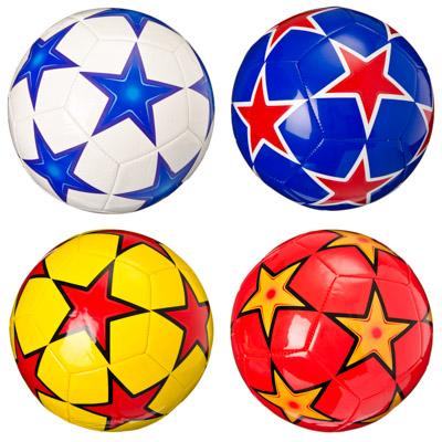 133-205 Мяч футбольный премиум 3 сл, р.5, 22см, TPU, 4 цвета, арт. МК053J1-4