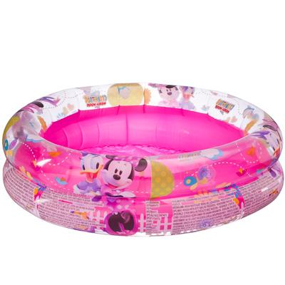 107-006 BESTWAY Бассейн детский надувной, 61х15см, 21л, до 3х лет, Disney MMCH Минни и Дэйзи, 91024