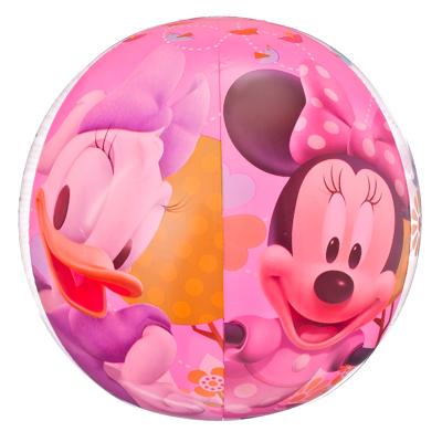 107-013 BESTWAY Мяч пляжный 51см, Disney MMCH Минни и Дэйзи, 91022