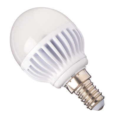 935-053 ECOLA Лампа светодиодная шар G45 E14 5.4W 4000 81x45, K4LV54ELC