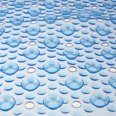"""403-046 Коврик для ванны противоскользящий, ПВХ, 67x37см, 4 цвета, VETTA """"Сфера"""""""