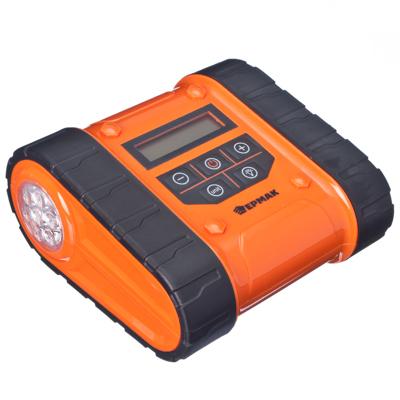 713-058 ЕРМАК Компрессор автомоб, мультифункциональный, цифровой дисплей, 10кг/см2, 35л/мин, вездеход