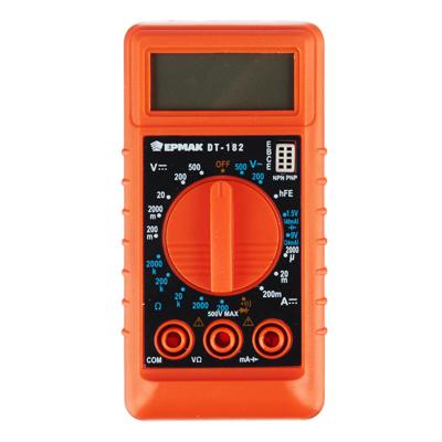 660-001 ЕРМАК Мультиметр мини цифровой DT-182