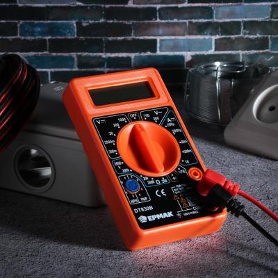660-003 ЕРМАК Мультиметр цифровой DT-830В