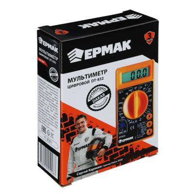 660-004 ЕРМАК Мультиметр цифровой DT-832