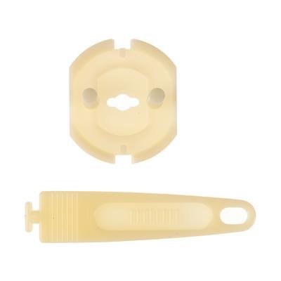 416-078 Заглушки для электрических розеток с держателем, 4шт, пластик, d3,2х2,2см
