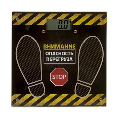 487-047 Весы напольные электрон., ЖК-дисплей, макс. нагр.до 180кг, 28х28х0,5см., VS-047, GC Design