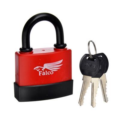 673-009 FALCO Замок навесной всепогодный, 75мм