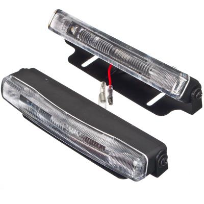 706-050 NEW GALAXY Дневные ходовые огни LED, белый свет, пласт корп, 2 ламп, 135х20мм, комп. 2шт, Classic
