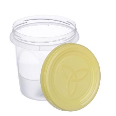 867-048 Банка для хранения продуктов пластиковая с завинчивающейся крышкой, 0,7л, 3 цвета