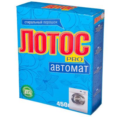 474-068 Стиральный порошок ЛОТОС Pro 450гр, автомат, к/у