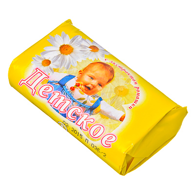 474-072 Мыло туалетное Детское, б/у 90гр арт.960