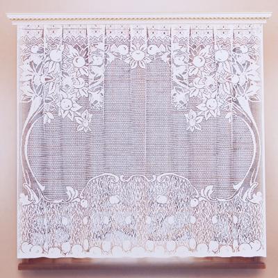 491-336 Занавеска для кухни 1,6х1,7м, цвет белый, 05с6021 рис М102