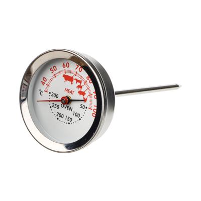 884-204 Термометр для духовой печи и мяса 2 в 1, нержавеющая сталь, VETTA