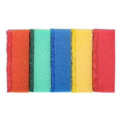"441-084 Набор губок для мытья посуды 5шт, 9,6х6,5х3 см, VETTA ""Премиум"""