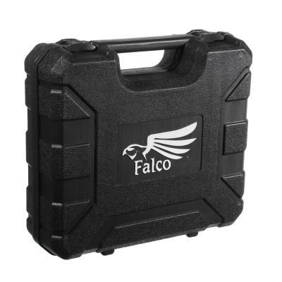 646-285 FALCO Фен технич. HG-2000-К, 2000 Вт, Реж.1: 300C°,250 л/мин/Реж 2: 500C°,500 л/мин,кейс+5 насадок