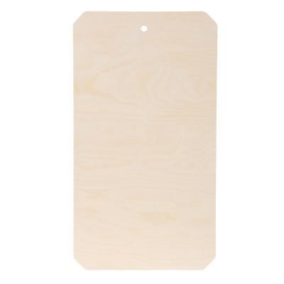 851-131 Доска разделочная фанера, 21x37,5x0,8см, дизайн GC