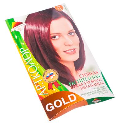 """330-034 Gold Краска для волос """"Гранат"""", 25гр"""