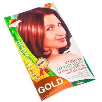 "330-035 Gold Краска для волос ""Каштан"", 25гр"