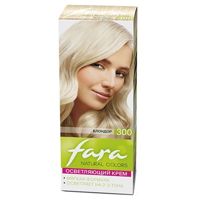"330-041 FARA Natural Colors Краска для волос ""300 Блондор"", Арт.300308"