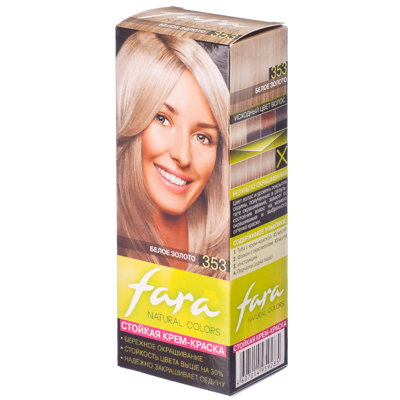 """330-046 FARA Natural Colors Краска для волос """"353 Белое золото"""""""