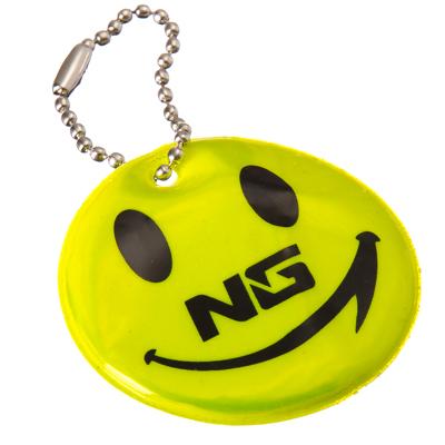 "771-183 NEW GALAXY Значок светоотражающий ""Смайл"", 5x5см"