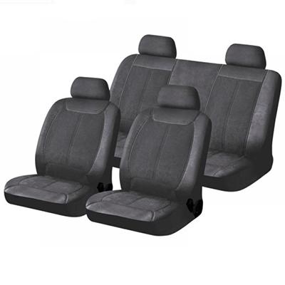 768-391 NEW GALAXY Чехлы автомобильные универ. 15 пр., экокожа и алькантара, Airbag, «Хелен»