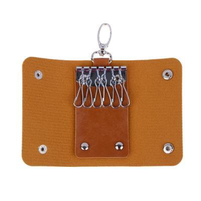 333-002 PAVO Ключница, искусств.кожа, 9,5х6см, 5 цветов, #A296