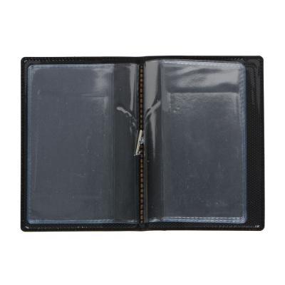 333-008 Холдер для пластиковых карт с удерживающей резинкой, ПВХ, 10,4х7см, #2015-1, Дизайн GC
