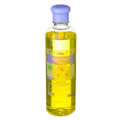 474-111 Шампунь Agelina Bio, 520гр, ромашка, п/б