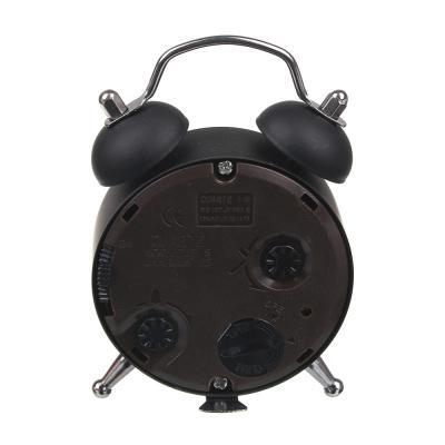 529-043 Будильник электронный, металл, пластик, 8,5x5,5x2 см, 1хAG13, LA DECOR