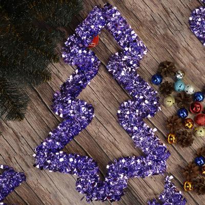 377-284 Украшение декоративное СНОУ БУМ 30х40см, ПВХ, металл, в виде елки, 4 цвета