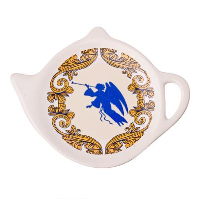 820-466 Рождество Подставка для чайных пакетиков 2шт, керамика