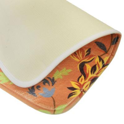 """462-529 VETTA Коврик для ванной из микрофибры 40х60x0,8см, """"Фантазия"""", 2 дизайна"""