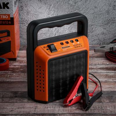 771-191 Зарядное устройство трансформаторное, автомат, 6A, 6В/12В, пластиковый корпус, ЕРМАК