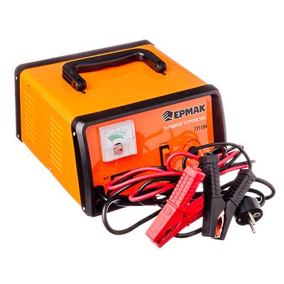Зарядное устройство трансформаторное автомат, с функцией jump-start, 15A, 12В, метал