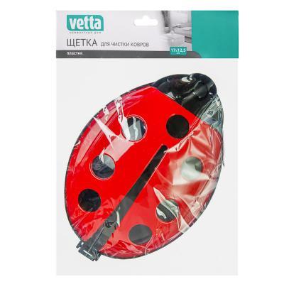 445-329 VETTA Щетка для чистки ковров, пластик, 16,5х11см