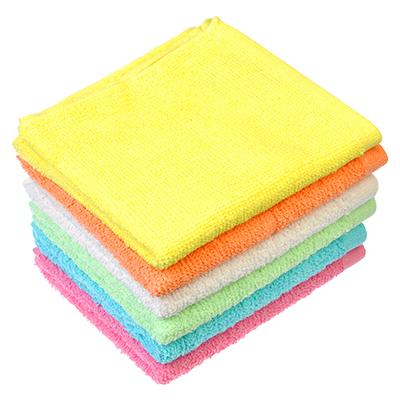 484-594 Полотенце кухонное махровое, хлопок, 30х70см