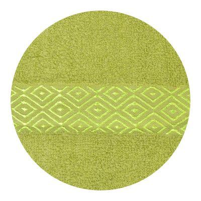 """484-596 Полотенце махровое, 100% хлопок, 70х140см, """"Соты"""", 4 цвета"""