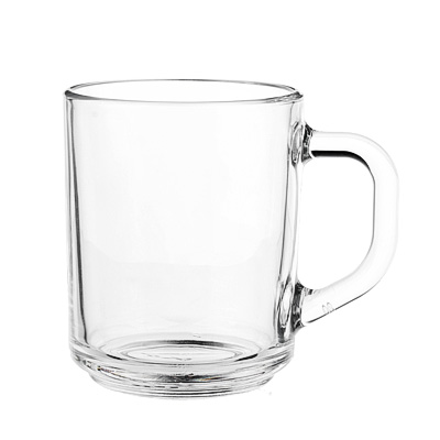 "879-090 Кружка стеклянная 200 мл, ОСЗ ""Green tea"""