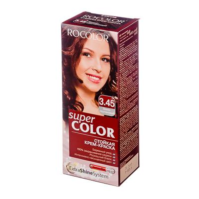 330-066 Роколор Краска для волос 3.45 темно-каштановый, 50/50/15мл (р)